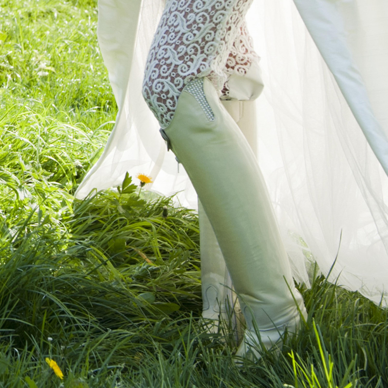 couture hippique dress